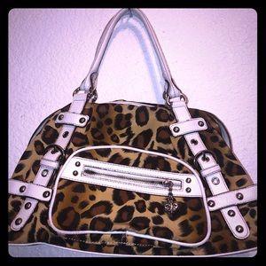 Kathy New Zealand Leopard Print bag